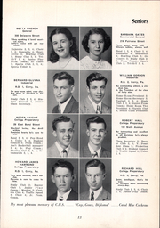 Page 17, 1949 Edition, Corry Area High School - Corrian Yearbook (Corry, PA) online yearbook collection