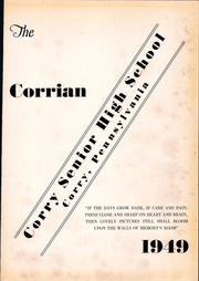 Page 5, 1949 Edition, Corry Area High School - Corrian Yearbook (Corry, PA) online yearbook collection