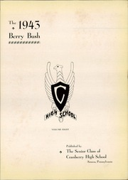 Page 5, 1943 Edition, Cranberry High School - Berry Bush Yearbook (Seneca, PA) online yearbook collection