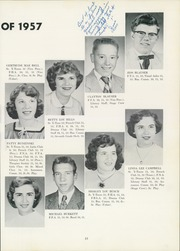 Page 17, 1957 Edition, Cranberry High School - Berry Bush Yearbook (Seneca, PA) online yearbook collection