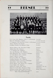 Page 12, 1935 Edition, Strong Vincent High School - Spokesman Yearbook (Erie, PA) online yearbook collection