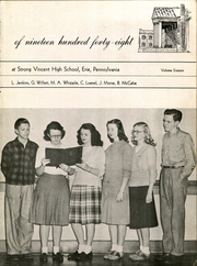 Page 7, 1948 Edition, Strong Vincent High School - Spokesman Yearbook (Erie, PA) online yearbook collection