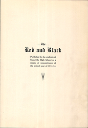 Page 7, 1932 Edition, Meadville Area High School - Red and Black Yearbook (Meadville, PA) online yearbook collection