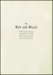 Page 9, 1933 Edition, Meadville Area High School - Red and Black Yearbook (Meadville, PA) online yearbook collection