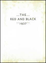Page 9, 1937 Edition, Meadville Area High School - Red and Black Yearbook (Meadville, PA) online yearbook collection