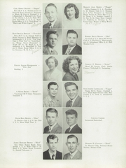 Page 15, 1949 Edition, Meadville Area High School - Red and Black Yearbook (Meadville, PA) online yearbook collection