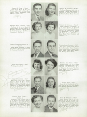 Page 16, 1949 Edition, Meadville Area High School - Red and Black Yearbook (Meadville, PA) online yearbook collection