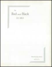 Page 7, 1953 Edition, Meadville Area High School - Red and Black Yearbook (Meadville, PA) online yearbook collection