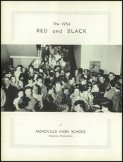 Page 6, 1954 Edition, Meadville Area High School - Red and Black Yearbook (Meadville, PA) online yearbook collection