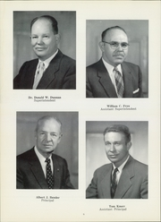 Page 10, 1958 Edition, Meadville Area High School - Red and Black Yearbook (Meadville, PA) online yearbook collection