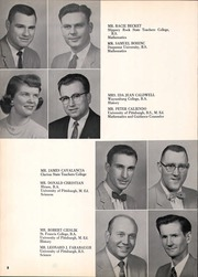 Page 12, 1958 Edition, Franklin Regional High School - Quill Yearbook (Murrysville, PA) online yearbook collection