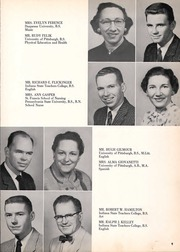 Page 13, 1958 Edition, Franklin Regional High School - Quill Yearbook (Murrysville, PA) online yearbook collection