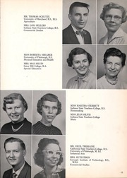 Page 15, 1958 Edition, Franklin Regional High School - Quill Yearbook (Murrysville, PA) online yearbook collection