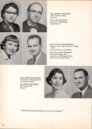 Page 16, 1958 Edition, Franklin Regional High School - Quill Yearbook (Murrysville, PA) online yearbook collection