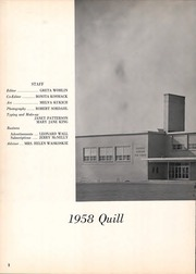 Page 6, 1958 Edition, Franklin Regional High School - Quill Yearbook (Murrysville, PA) online yearbook collection