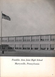Page 7, 1958 Edition, Franklin Regional High School - Quill Yearbook (Murrysville, PA) online yearbook collection
