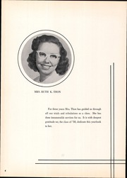 Page 8, 1958 Edition, Franklin Regional High School - Quill Yearbook (Murrysville, PA) online yearbook collection