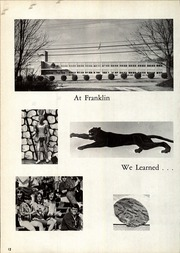 Page 16, 1967 Edition, Franklin Regional High School - Quill Yearbook (Murrysville, PA) online yearbook collection