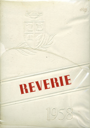 1958 Edition, Northwestern Lehigh High School - Reverie Yearbook (New Tripoli, PA)