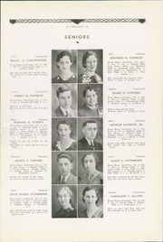 Page 11, 1934 Edition, Philipsburg Osceola Area High School - Mountaineer Yearbook (Philipsburg, PA) online yearbook collection