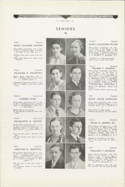 Page 12, 1934 Edition, Philipsburg Osceola Area High School - Mountaineer Yearbook (Philipsburg, PA) online yearbook collection