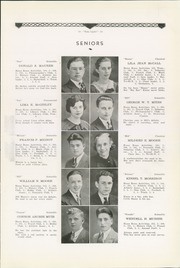 Page 15, 1934 Edition, Philipsburg Osceola Area High School - Mountaineer Yearbook (Philipsburg, PA) online yearbook collection