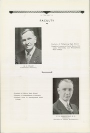 Page 6, 1934 Edition, Philipsburg Osceola Area High School - Mountaineer Yearbook (Philipsburg, PA) online yearbook collection