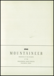 Page 7, 1945 Edition, Philipsburg Osceola Area High School - Mountaineer Yearbook (Philipsburg, PA) online yearbook collection
