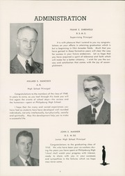 Page 13, 1948 Edition, Philipsburg Osceola Area High School - Mountaineer Yearbook (Philipsburg, PA) online yearbook collection