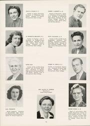 Page 14, 1948 Edition, Philipsburg Osceola Area High School - Mountaineer Yearbook (Philipsburg, PA) online yearbook collection
