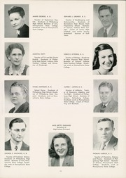 Page 15, 1948 Edition, Philipsburg Osceola Area High School - Mountaineer Yearbook (Philipsburg, PA) online yearbook collection