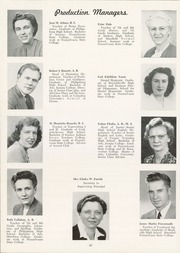 Page 14, 1949 Edition, Philipsburg Osceola Area High School - Mountaineer Yearbook (Philipsburg, PA) online yearbook collection