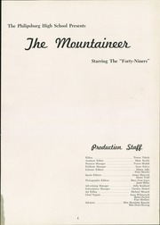 Page 5, 1949 Edition, Philipsburg Osceola Area High School - Mountaineer Yearbook (Philipsburg, PA) online yearbook collection