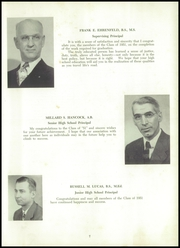 Page 11, 1951 Edition, Philipsburg Osceola Area High School - Mountaineer Yearbook (Philipsburg, PA) online yearbook collection