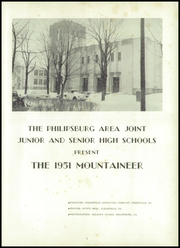 Page 5, 1951 Edition, Philipsburg Osceola Area High School - Mountaineer Yearbook (Philipsburg, PA) online yearbook collection