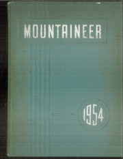 Page 1, 1954 Edition, Philipsburg Osceola Area High School - Mountaineer Yearbook (Philipsburg, PA) online yearbook collection