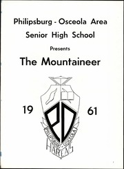 Page 5, 1961 Edition, Philipsburg Osceola Area High School - Mountaineer Yearbook (Philipsburg, PA) online yearbook collection