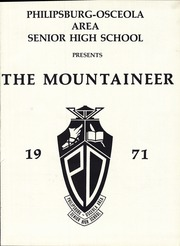 Page 5, 1971 Edition, Philipsburg Osceola Area High School - Mountaineer Yearbook (Philipsburg, PA) online yearbook collection
