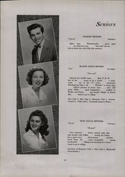 Page 16, 1946 Edition, Hatboro High School - Hi Hatter Yearbook (Hatboro, PA) online yearbook collection