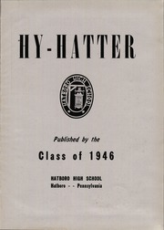Page 5, 1946 Edition, Hatboro High School - Hi Hatter Yearbook (Hatboro, PA) online yearbook collection