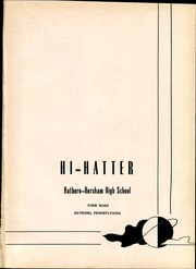 Page 5, 1952 Edition, Hatboro High School - Hi Hatter Yearbook (Hatboro, PA) online yearbook collection
