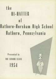 Page 5, 1954 Edition, Hatboro High School - Hi Hatter Yearbook (Hatboro, PA) online yearbook collection