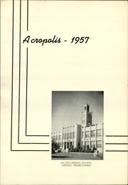 Page 5, 1957 Edition, Milton Hershey School - Acropolis Yearbook (Hershey, PA) online yearbook collection