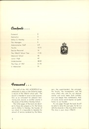 Page 6, 1957 Edition, Milton Hershey School - Acropolis Yearbook (Hershey, PA) online yearbook collection