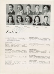 Page 14, 1943 Edition, Mars Area Junior Senior High School - Planet Yearbook (Mars, PA) online yearbook collection