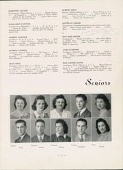 Page 15, 1943 Edition, Mars Area Junior Senior High School - Planet Yearbook (Mars, PA) online yearbook collection