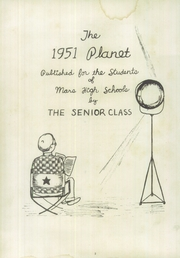 Page 6, 1951 Edition, Mars Area Junior Senior High School - Planet Yearbook (Mars, PA) online yearbook collection