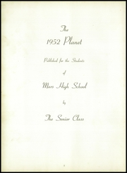 Page 6, 1952 Edition, Mars Area Junior Senior High School - Planet Yearbook (Mars, PA) online yearbook collection
