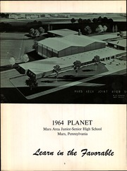 Page 6, 1964 Edition, Mars Area Junior Senior High School - Planet Yearbook (Mars, PA) online yearbook collection