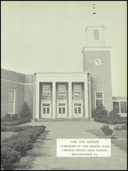 Page 5, 1959 Edition, Central Bucks High School West - Antler Yearbook (Doylestown, PA) online yearbook collection